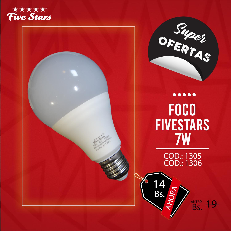 FOCO FIVESTARS 7W