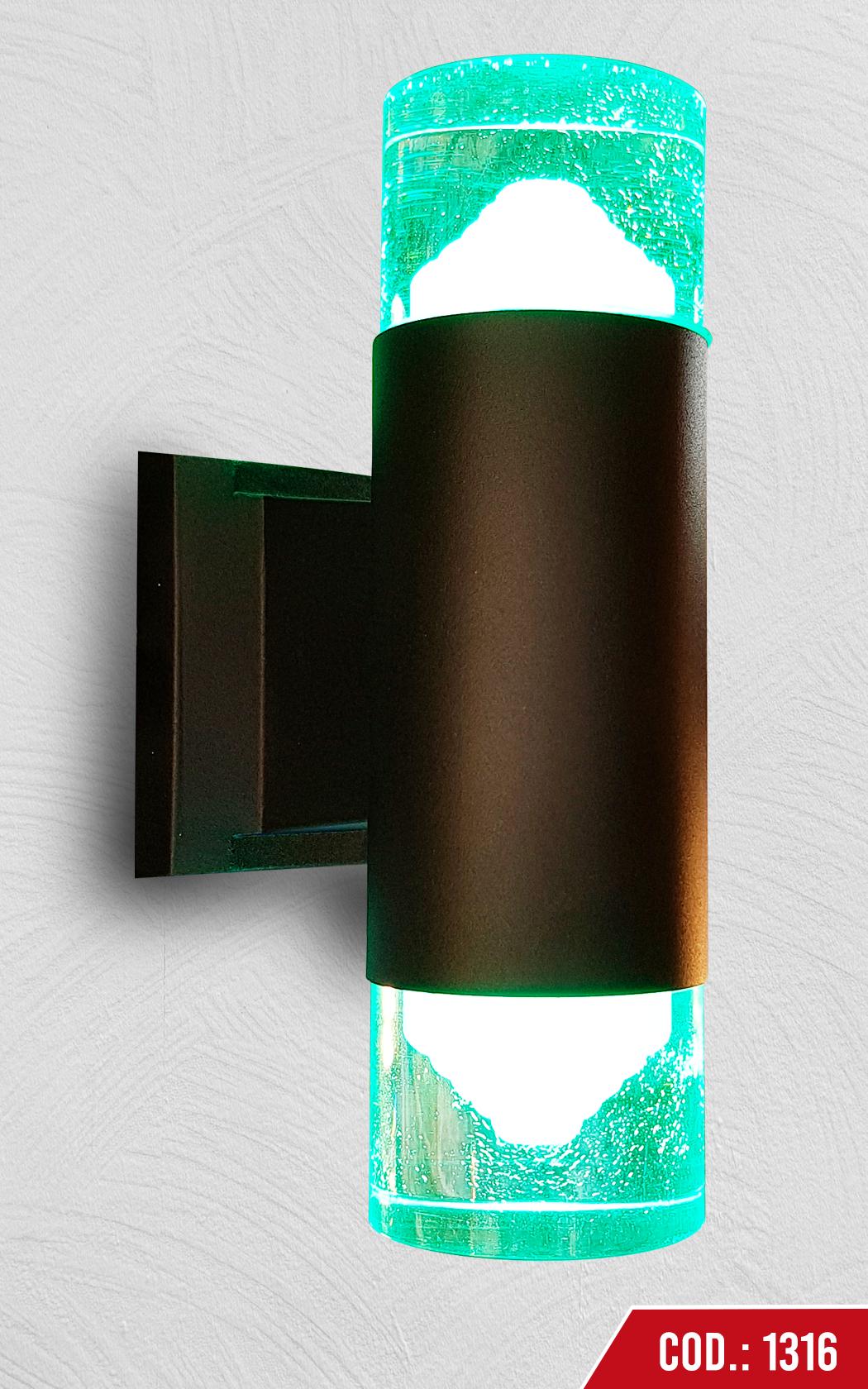 Aplique de Pared c/2 sockets GU10
