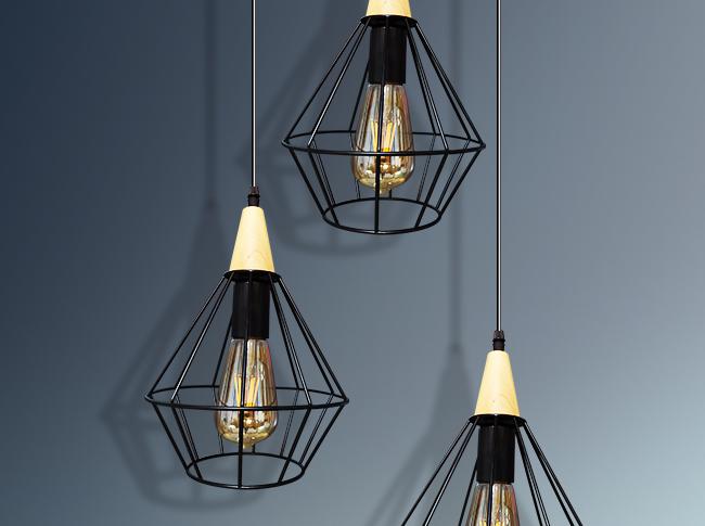 Lámpara Colgante Geometrica